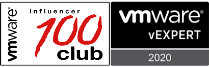 VirtualG VMware vExpert and Top 100 Influencer